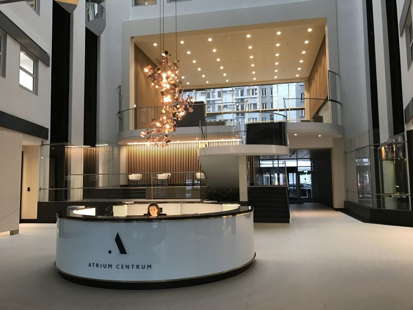 Renewed Atrium Centrum that delights with its interior