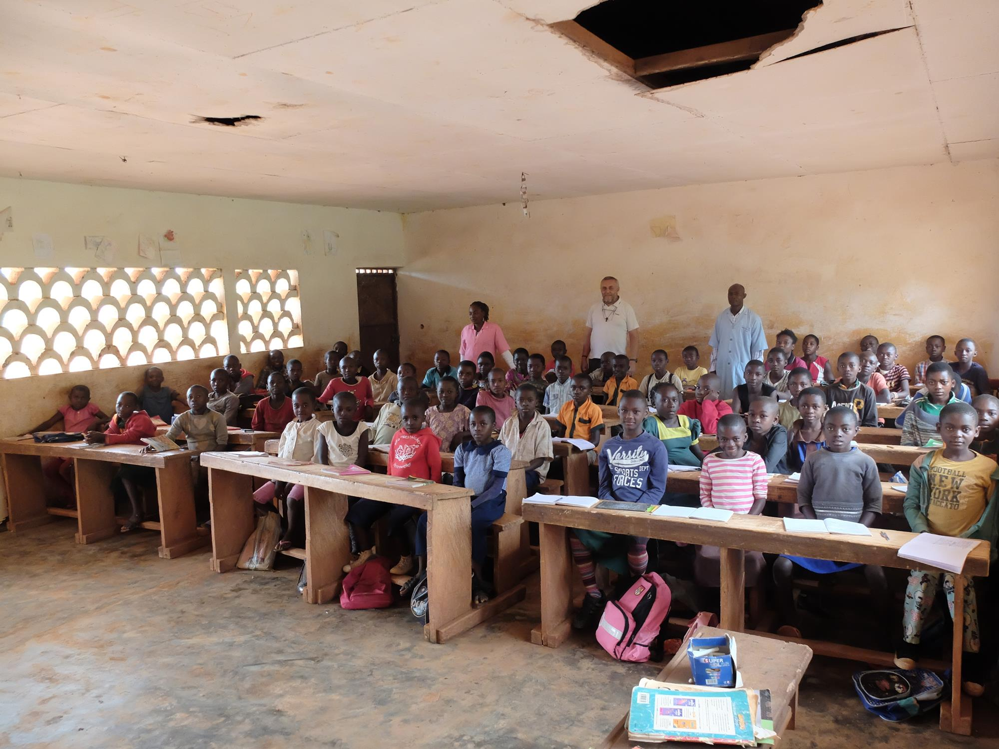 cmT supports education for children in Cameroon